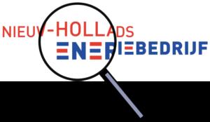 NHE logo + vergrootglas